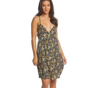 VOLCOM You Want This Dress Strappy, Grommets M 12
